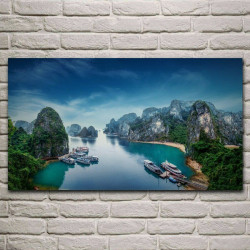 TOILE Halong bay 50X85 cm