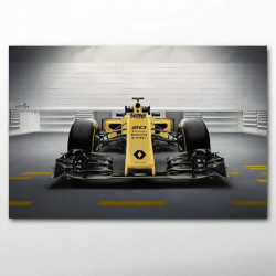 TOILE Renaults RS17 F1...